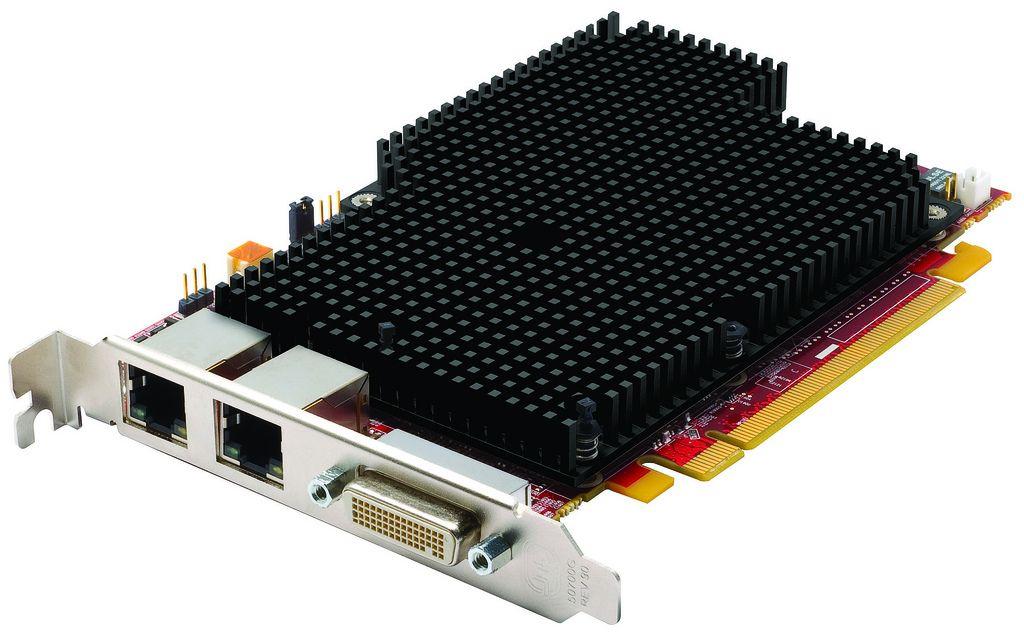 New ATI FirePro™ RG220 graphics card helps