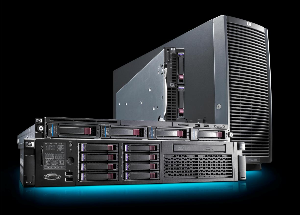 Server Virtualization HP Proliant