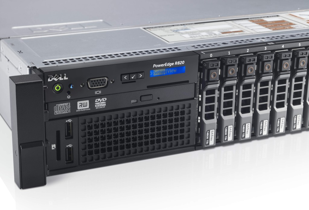 PowerEdge R820 Rack Server - LED Detail