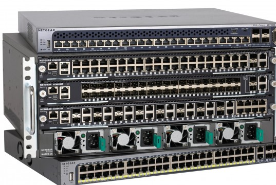 The NETGEAR ProSAFE M6100 Chassis Series